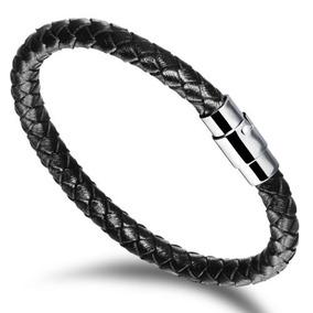 1aff0c271849 Enfriar Cuero Trenzada Cuerda Pulsera Brazalete... (black) por eBay