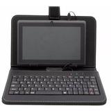 Estuche Funda Con Teclado Para Tablet 7 Micro Usb - Skill