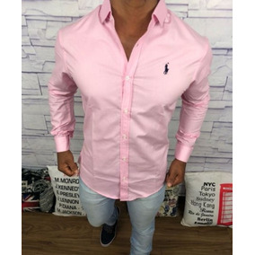 Camisa Masculina Social Armani   Ralph Lauren   Lacoste