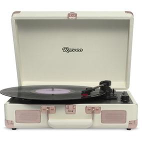 Toca Discos Raveo Sonetto Rose Gold Bivolt 10 Watts Com Con