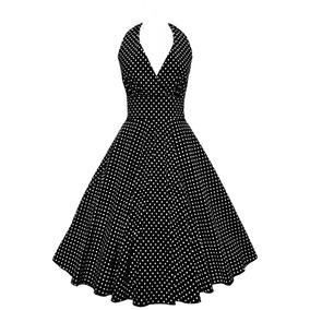 Vestido Pin Up Rockabilly Vintage Circular Mdo 094