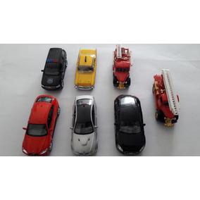 Miniaturas De Carro Em Metal Kit Com 7 Peças Varias