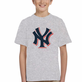 Remera New York Yankees Beisbol Deporte Enes Pinstripers