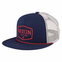 Gorra Nixon C2574-880-00 Sierra Trucker Navy Envio Gratis