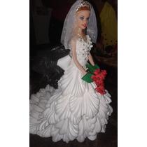 Noiva Com Vestido De E.v.a