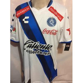 e62cda06dc553 Jersey Charly Futbol La Franja De Puebla 100%original Local