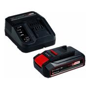 Starter Kit Cargador Rapido + Batería 18v 2.5 Ah Amp Einhell