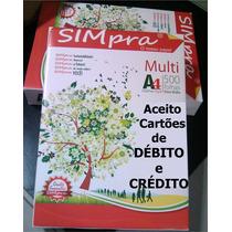 Papel A4-75gr - Cx. Com 10 Resmas - R$ 143,00 - Ótimo Papel.