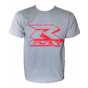 Camiseta Masculina Suzuki Gsx Srad Moto Super Oferta