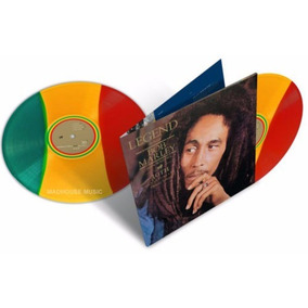Lp Duplo Bob Marley Legend 30th Vinil Colorido 180g Imported