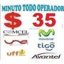 Minutos Vozip $35 Todo Operador