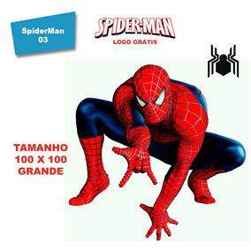 Adesivo De Parede Homem Aranha Game Spiderman - Skin Grande