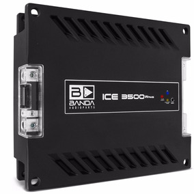 Modulo Banda Ice 3500w Rms Amplificador Digital Brinde Som