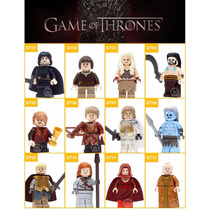 Kit 12 Legos Game Of Thrones Jon Snow Tyrion Compativel