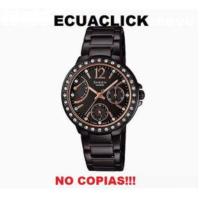 Reloj Casio Sheen Mujer Swarovski Originales Envios!