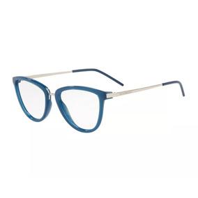 9bacc4471b186 Oculos De Grau Emporio Armani Feminino Resina Marrom - Óculos no ...