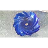 Bandeja / Bol Pequeño De Vidrio Azul Arcoroc / Frances