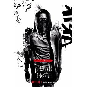 Poster Cartaz Grande Filme Death Note Netflix Decoração Nerd
