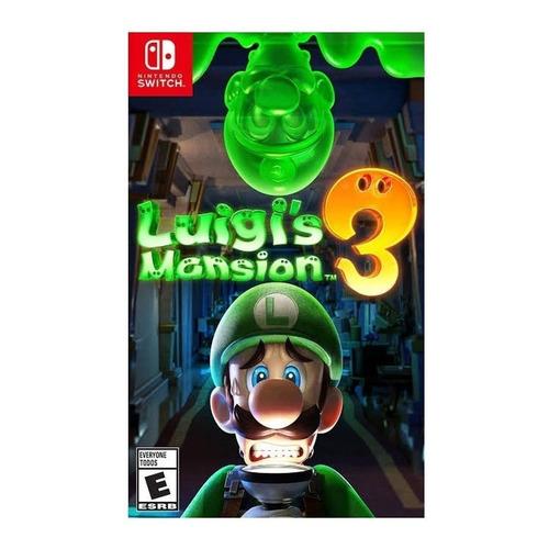 Luigi's Mansion 3 Standard Edition Nintendo Switch  Digital