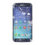 Cambio Vidrio Roto Astillado Samsung S7 Edge En 3hs