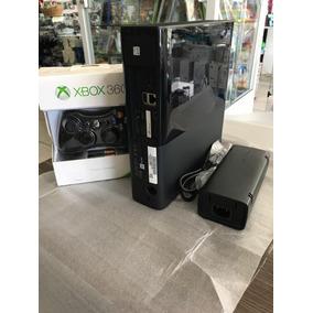 Xbox 360 Super Slim Desbloqueado 4gb Novo Fifa 2018 Pes 2018