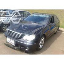 Mercedes C230 Kompressor 2005 W203 Sucata Peças Motor Painel