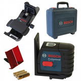 Nível À Laser De Linhas Gll 2-15 Professional + Maleta Bosch