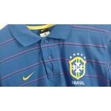 Polo Seleção Brasileira Nike Original Perfeito Estado Unica