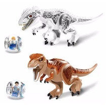 Kit 2 Indominus Rex Grandes Jurassic World Pronta Entrega