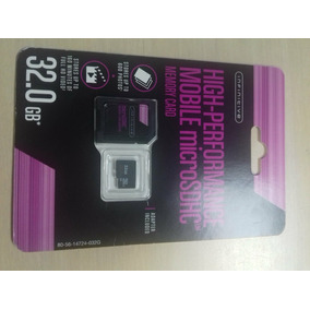 Memoria Micro Sd High Performance 32g
