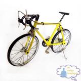 Miniatura Bicicleta Metal Carreras,1:10 Modelo A Escala