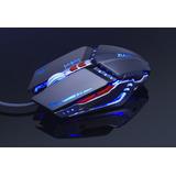 Mouse Gamin Gamer 3d 6 Botones 3200 Dpi Usb Alambrico