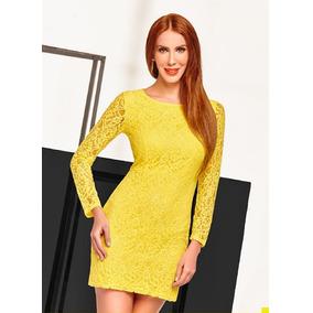 Vestido Cklass Amarillo Temporada Primavera Verano 2016