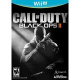 Call Of Duty: Black Ops Ii -nintendo Wii U -negro