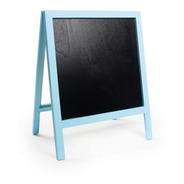 Lousa Para Personalizar Cavalete Com Pé Azul Claro P - 01 Un