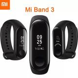 Mi Band 3 Relógio Pulseira Smartwatch Cardíaco Xiaomi Lacrad