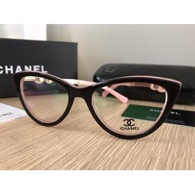 Armacao Channel Com Perola - Óculos no Mercado Livre Brasil fcd30f5353
