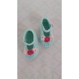 Guillerminas Beba Tejidas En Hilo A Crochet