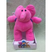 Pocoyo Elly Elefante Rosa Peluche Original 27cms