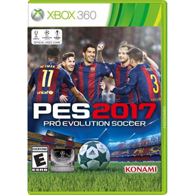 Pes 17 Xbox 360 Mídia Física Lacrado