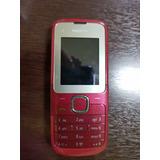 Celular Nokia C2-00 Vermelho