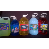 Productos De Limpieza (limpiador - Hipoclorito - Detergente)