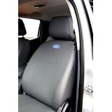 Capas Banco Carro 100% Couro Ford Ranger Cabine Dupla 2018