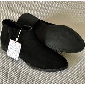 Bota Zara Nr 36 Preta Feminina