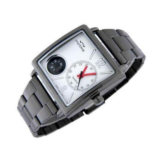 Reloj Montreal Hombre Ml370 Brújula Envío Gratis Tienda Ofic