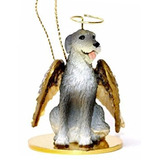 Irish Wolfhound Angel Dog Ornament