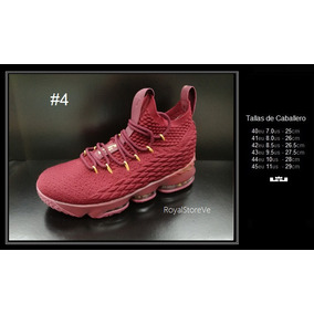 Zapatos Nike Lebron Xv 15 Dama Caballero Originales