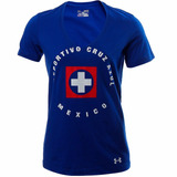 Playera Cruz Azul Print Graphic Mujeres Under Armour Ua1838