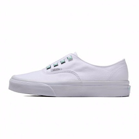 Tenis Vans Casual Authentic Vn-0a38etmsz Blanco Estoperoles