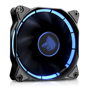 Ventilador Eagle Warrior Halo Led Azul 120mm Para Gabinete